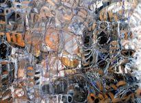 Abstrakt, Weiß, Metamorph, Linie
