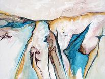 Malerei, Hund, Pinguin