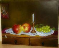 Schatten, Stillleben, Licht, Apfel