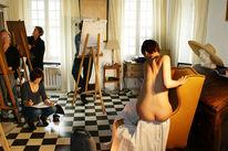Aktzeichnen, Zeichnen, Malurlaub, Provence