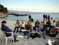 Cinque terre, Malen lernen, Malreise, Ligurien