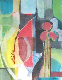 Malerei, Stillleben, Brief