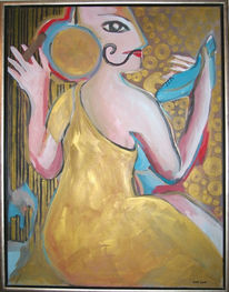 Malerei, Figural, Männlich, Weiblich