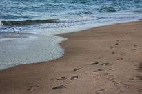 Fotografie, Sand, Spuren