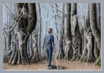 Fantasie, Holzfäller, Legende, Wald