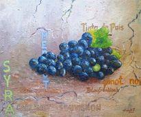 Trauben, Wein, Malerei
