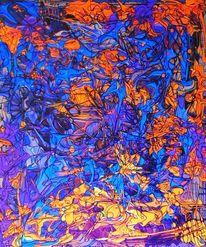 Ding dong dynamo, Malerei, Abstrakt