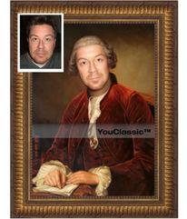 Portrait, Klassizismus, Gemälde, Ölmalerei