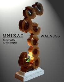 Licht, Skulptur, Beleuchtung, Stehleuchte