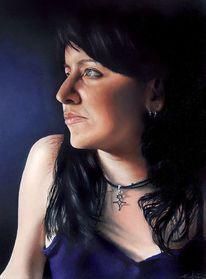 Portrait anne, Malerei, Portrait
