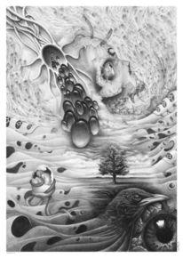 Kollaboration, Hoffnung, Surreal, Zeichnungen