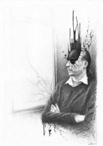 Oubliette, Albtraum, Scheibe, Portrait