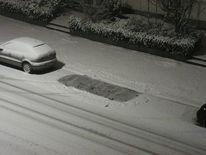 Auto, Schnee, Weg, Fotografie