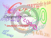 Copyright, Digitale kunst,