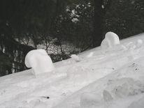 Rumpelt, Schneeschmelze, Dach, Selbstorganisierende
