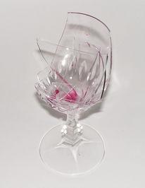 Glück scherben glas, Rotwein noargerl, Fotografie, Glück