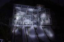 Fotografie, Industrie, Nachtaufnahme, Lightpainting
