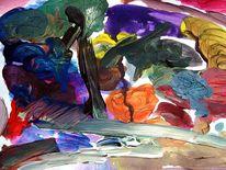 Gegenstandslos abstrakt malerei, Malerei,