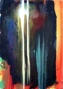 Farbe ist information, Gegenstandslos abstrakt malerei, Malerei,