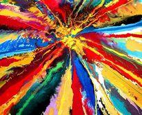 Gegenstandslos, Gegenstandslos abstrakt malerei, Malerei,