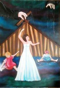 Ölmalerei, Unabhängigkeit, Frei sein, Marionette