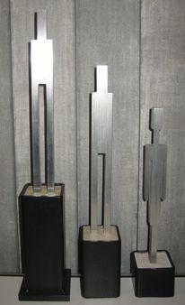 Baustahl, Schweißen, Eisenskulptur, Produktdesign