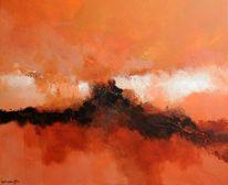 Exto, Abstrakt, Landschaft, Malerei