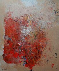Feuer, Malerei, Abstrakt