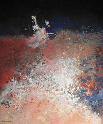 Brushing, Acrylmalerei, Malerei, Abstrakt