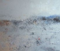 Bart van oijen, Acrylmalerei, Ost wind, Kalt