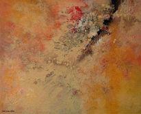 Gedicht, Berge, Acrylmalerei, Abstrakt