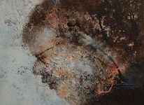 Acrylmalerei, Selbstportrait, Malerei, Portrait