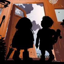 Kinder, Kalender, November, Kids
