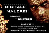 Digitale malerei, Ausstellung, Fantasie, Erfurt