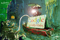 Google, Illustration, Gully, Grafik