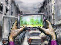 Digital, Nett, Wahrnehmung, Deutschland