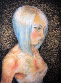 Poesie, Portrait, Zeichnungen,