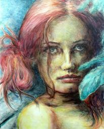 Zeichnung, Portrait, 2011, Ausstellung
