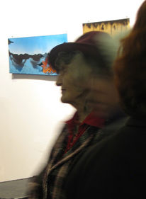 Portrait, Vernissage, Suhl, 2011
