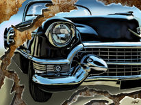 Cadillac, Hilpart, Usa, Surreal