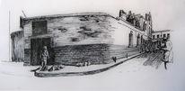 Mauer, London, Zeichnungen, Großvater
