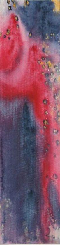 Sonstewas, Ausschnitt, Länglich, Aquarellmalerei