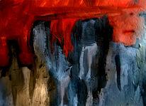 Verfolgung, Geist, Wahn, Malerei