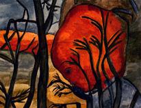 Paradies, Versuchung, Apfel, Malerei