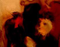Nacht, Dunkel, Malerei, Surreal