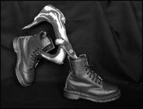 Stiefel, Skulptur, Joggen, Fotografie