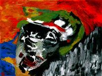 Frieden, Soldat, Malerei