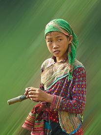 Laos, Digitale kunst, Figural