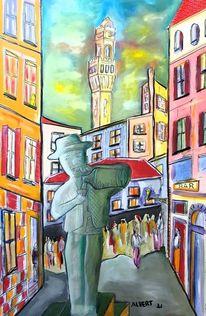 Italien, Stadt, Siena, Malerei