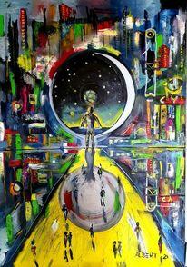 Tor, Raum, Fiktion, Zeit